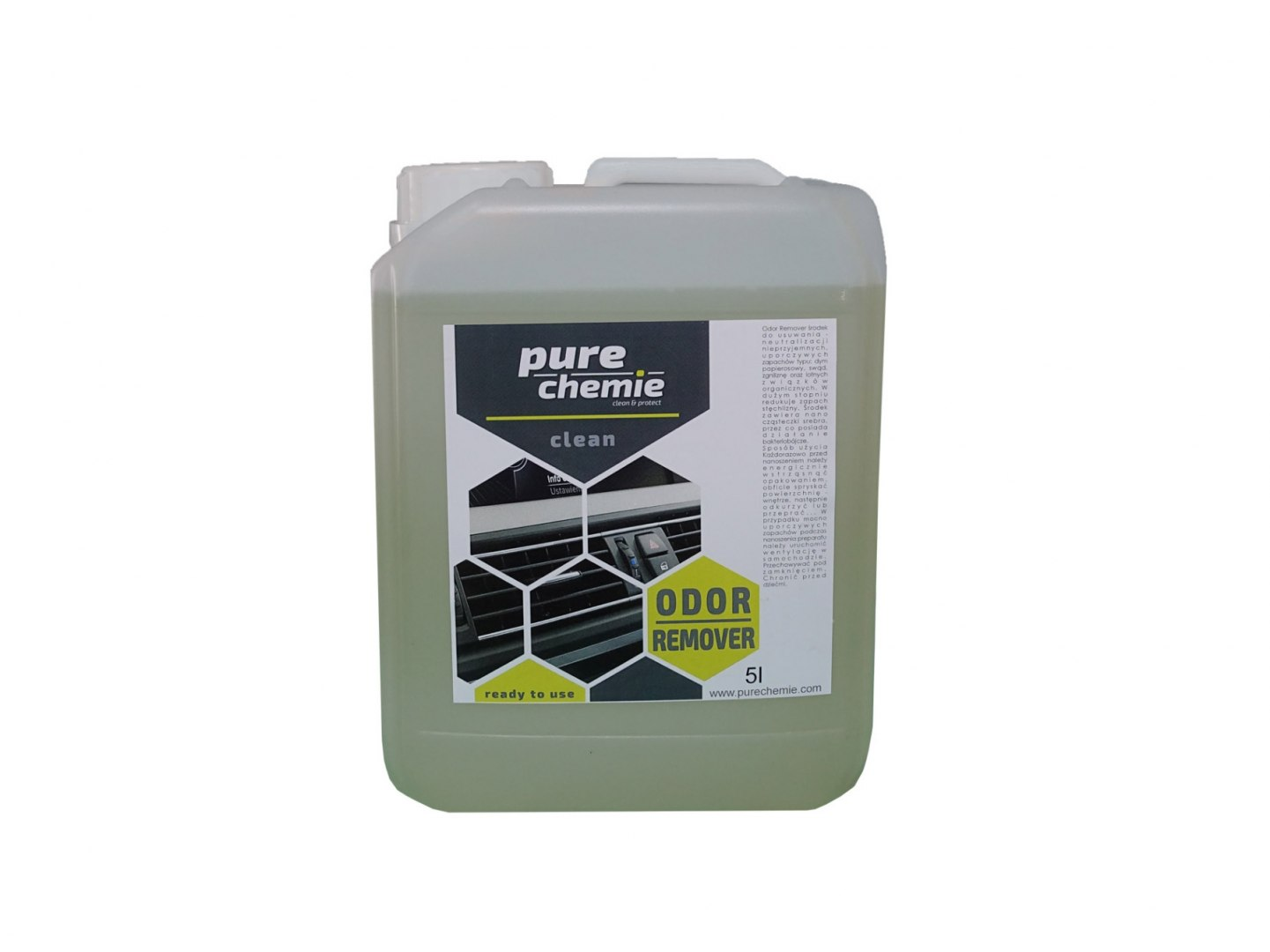 Pure Chemie Odor Remover 5L (Neutralizator zapachów) - GRUBYGARAGE - Sklep Tuningowy